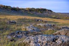Autumn river landscape royalty free stock photo