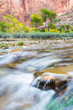 Autumn river landscape Royalty Free Stock Image