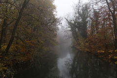 Autumn river Royalty Free Stock Image