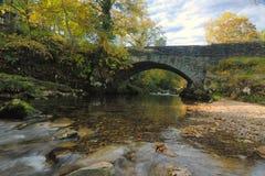 Autumn river scene Stock Images
