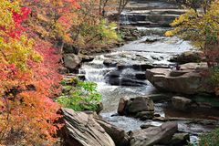 Autumn River Scene Royalty Free Stock Photo