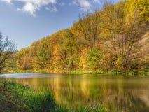 Autumn river Stock Image