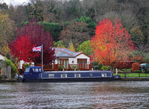Autumn on The River Thames Stock Images