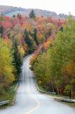Autumn Road. Vermont road in autumn Stock Image