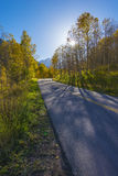 Autumn Road to the Maroon Bells Stock Images