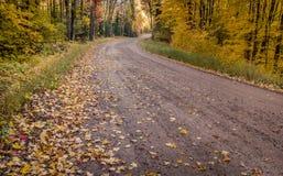 Autumn Road Trip Fotografía de archivo