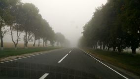 Autumn road. Trip in Russia, beautiful Caucasus view travel royalty free stock photography