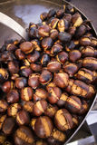 Autumn roast chestnuts Royalty Free Stock Photography