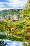 Autumn Rock Fotografia de Stock Royalty Free