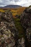 Autumn Rocks Royalty-vrije Stock Afbeeldingen
