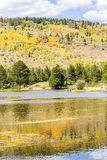 Autumn in Rocky Mountain National Park. Autumn at Sprague Lake in Rocky Mountain National Park Colorado Royalty Free Stock Images
