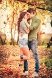 Autumn Romance Stock Photography