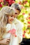 Autumn romance Royalty Free Stock Photo