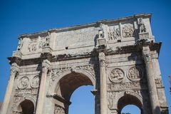 Autumn in Rome Colosseum Italy. Autumn Rome Colosseum Italy travel old tourism Royalty Free Stock Photography