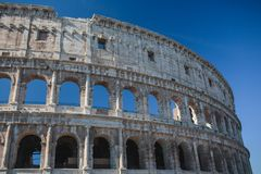 Autumn in Rome Colosseum Italy. Autumn Rome Colosseum Italy travel old tourism Royalty Free Stock Photos