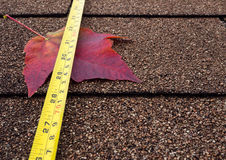 Autumn roof Royalty Free Stock Photo