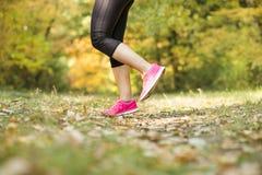 Autumn runner Royalty Free Stock Photo