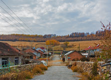 Autumn in rura Royalty Free Stock Photos
