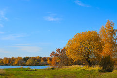 Autumn rural landscape Royalty Free Stock Photo