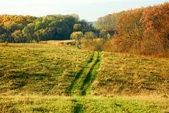 Autumn rural landscape Royalty Free Stock Image