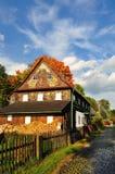 Autumn rural landscape. Czech republic Stock Image
