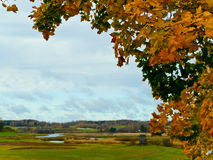 Autumn in rural place Royalty Free Stock Photography
