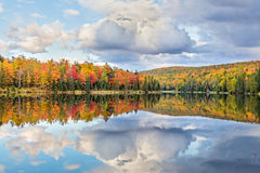 Autumn's Mirror Royalty Free Stock Photography