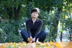 Autumn sadness Stock Image