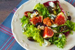 Autumn salad Stock Images