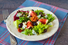 Autumn salad Royalty Free Stock Photos