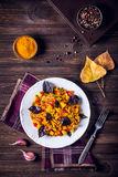 Autumn salad with spices Royalty Free Stock Photo