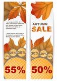 Autumn Sale. Fotografering för Bildbyråer