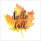 Autumn Sale Background Imagen de archivo libre de regalías