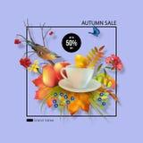 Autumn Sale Design Photo libre de droits