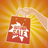 Autumn sale gag Royalty Free Stock Photos
