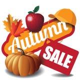 Autumn sale icon Royalty Free Stock Photos