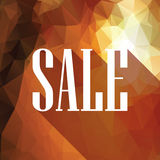 Autumn sale poster. Special offer promotion Royalty Free Stock Photo