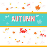 autumn sale Stock Photo