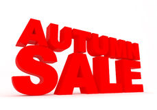 Autumn sale sign Royalty Free Stock Photos