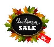 Autumn Sale Signboard Fotografering för Bildbyråer