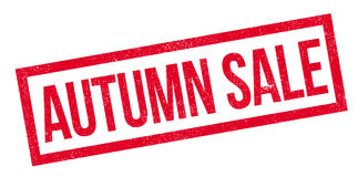 Autumn Sale stamp-5000L Fotos de archivo libres de regalías