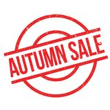 Autumn Sale stamp-5000L Image stock