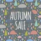 Autumn Sale Royalty Free Stock Photo