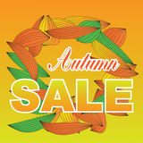 Autumn sale vector Stock Photo
