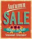 Autumn Sale. Vintage card. Vector illustration vector illustration