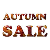 Autumn Sale Royalty Free Stock Photo