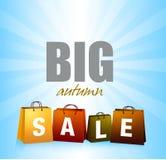 Autumn Sales Background Fotografía de archivo