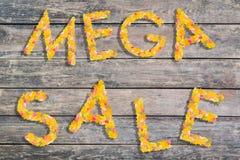 Autumn Sales Background royaltyfri foto