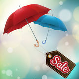 Autumn sales. EPS 10 Royalty Free Stock Image