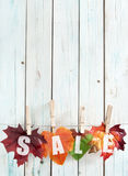 Autumn sales Royalty Free Stock Images